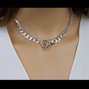 Jewelry - 925 Curb Chain Choker